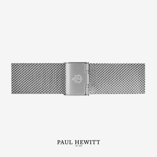 PH-M1-S-4 Paul Hewitt 原廠錶帶 - 20mm不鏽鋼電鍍米蘭錶帶 (銀色)